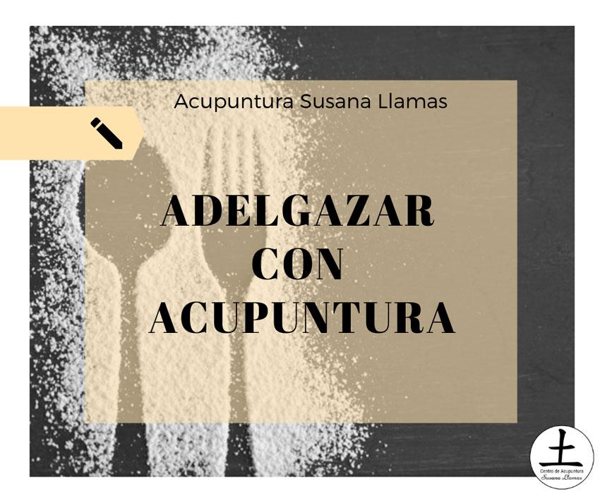 ¿Es posible adelgazar con acupuntura?